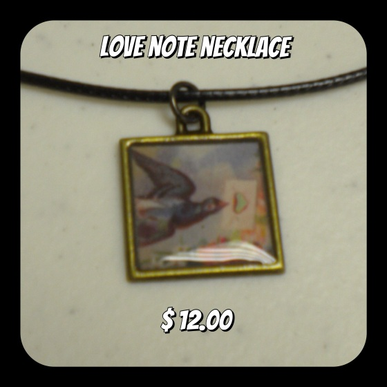 Cute resin piece in an antiques bronze colored bezel with a soft leather necklace with claw clasp. All Resin pieces are handmade and no 2 are the same. FREE STANDARD SHIPPING VIA USPS to shipping addresses in the United States.